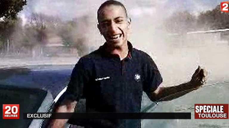 Primeras imágenes del sospechoso, Mohamed Merah