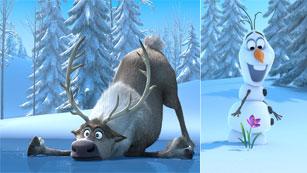 Primeras imágenes de 'Frozen, el reino de hielo', la nueva película de Disney