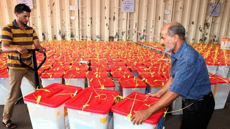 Incertidumbre para los primeros resultados de las elecciones libias