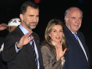 Visita de los Príncipes de Asturias a Perú