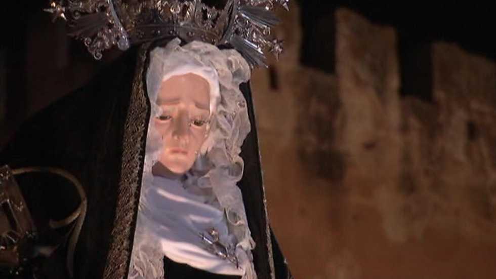 Semana Santa 2016 - Procesión de Ntra. Sra. de la Soledad y Santo Entierro