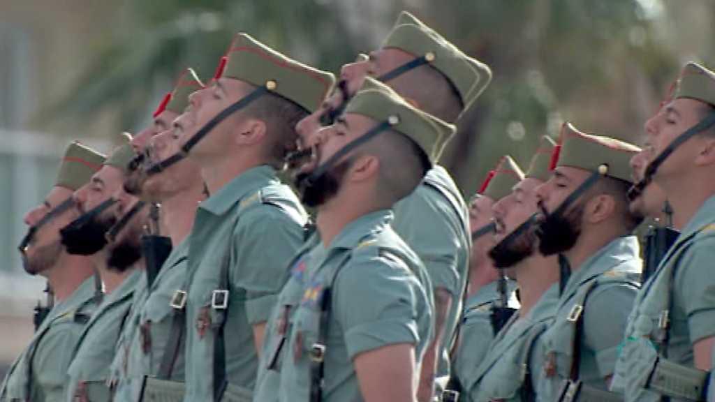 Procesiones de Semana Santa 2018 - Desembarco de la Legión en el puerto de Málaga
