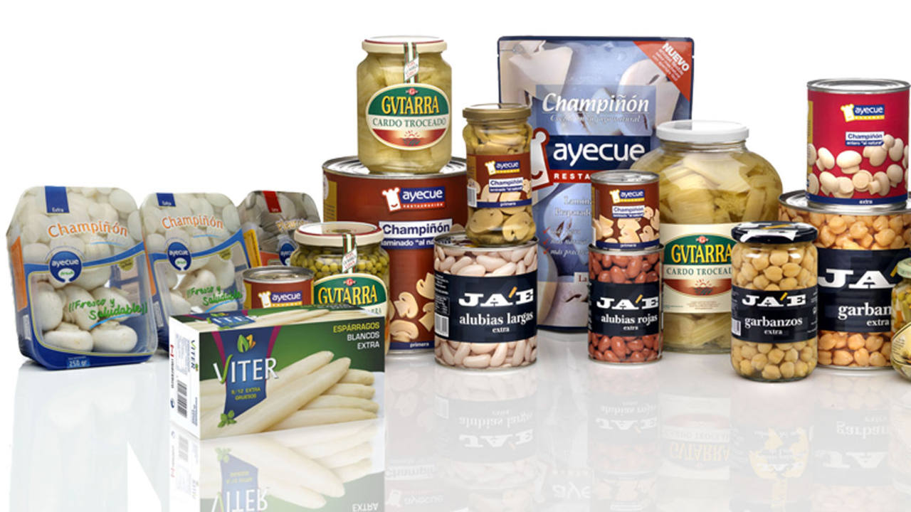 Productos de la empresa riojana Riberebro