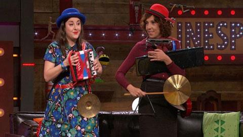 La Judit i l'Anna, les dones-orquestra