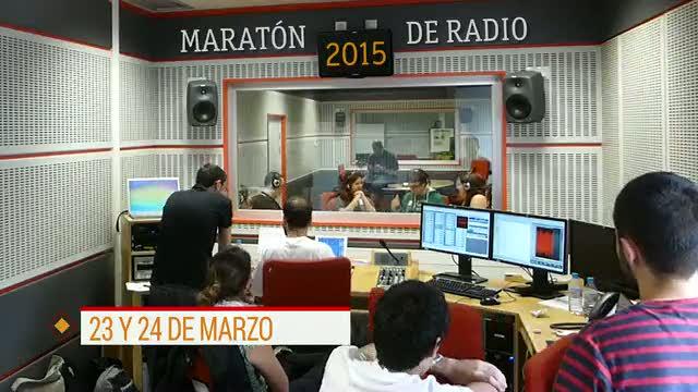 Promoción de la maratón de radio 2015 del Instituto RTVE