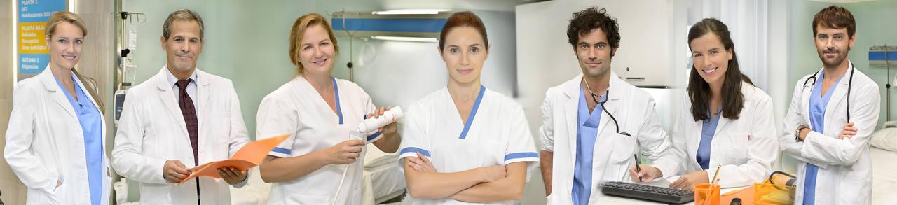 Los protagonistas de Centro Medico