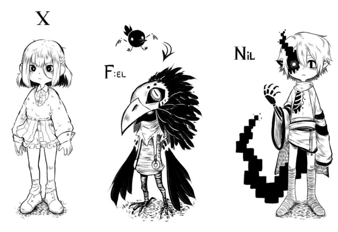 Los protagonistas de 'Delete'