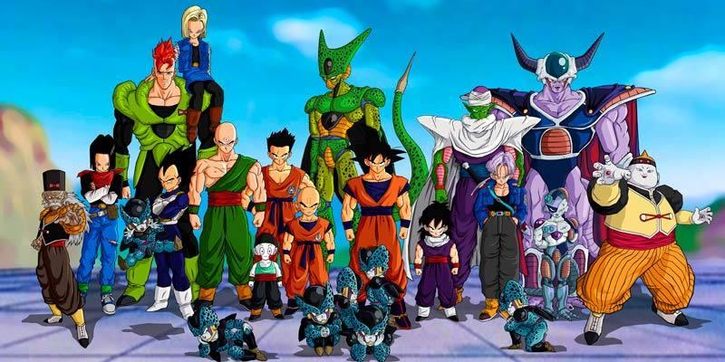 Los protagonistas de 'Dragon Ball'