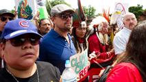Una protesta recorre Washington por el clima y contra Trump
