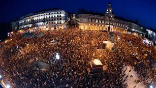 Las protestas contra los recortes toman las ciudades españolas