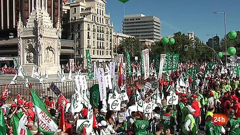 Arrancan en Madrid las protestas contra los recortes