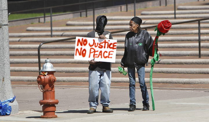 Protests flolowing the not guilty verdict for Cleveland Police Officer Michael Brelo