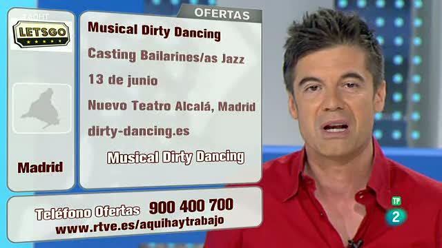 Pruebas para el musical Dirty Dancing