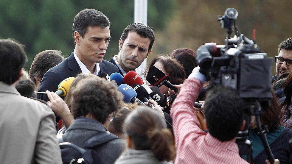 El PSOE pide una solución politica para Cataluña