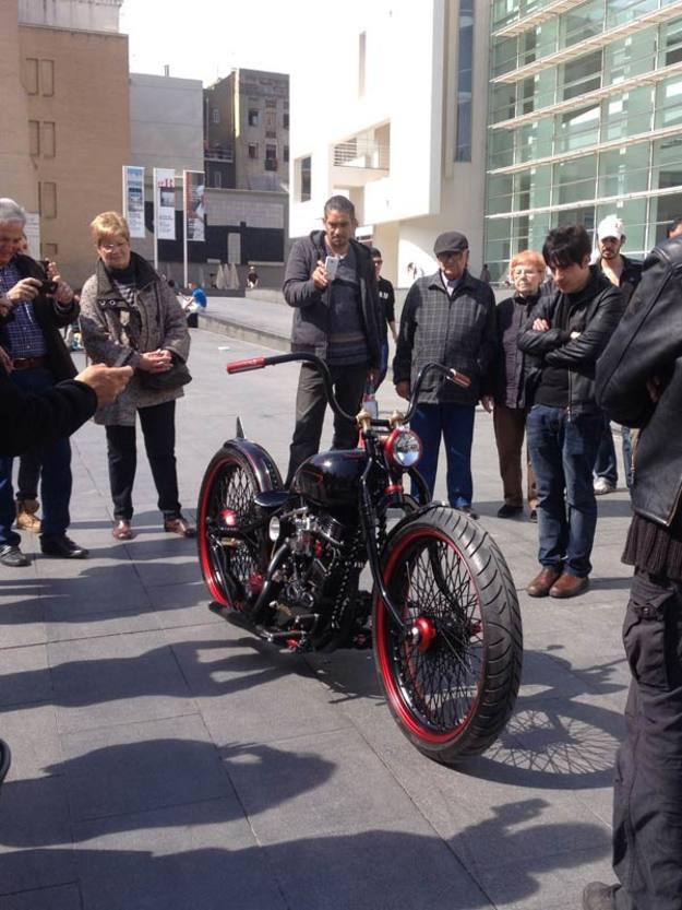 ¿Puede considerarse una moto customizada una obra de arte? Frente a la Panafina de Ferry Clot