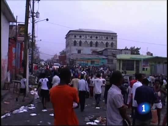 La tragedia en Haití no hace más que empeorar radicalmente la vida política y social del país