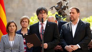 Puigdemont anuncia el referéndum catalán para el domingo 1 de octubre