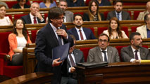 Puigdemont anuncia un referéndum para septiembre de 2017 con o sin aval del Estado