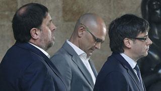 Puigdemont y Junqueras proponen al Gobierno un referéndum pactado como el escocés