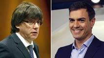 Ir al VideoPuigdemont recibirá a Pedro Sánchez y Ciudadanos amenaza con romper si negocian un referéndum