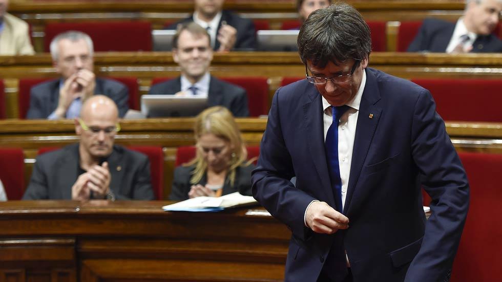 Puigdemont se someterá a una cuestión de confianza en septiembre tras tumbar la CUP los presupuestos