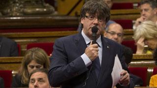 Puigdemont solicita por carta a Pastor un debate sobre el referéndum en el Congreso