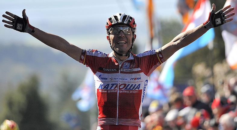 'Purito' Rodríguez gana la Flecha Valona