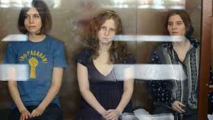Visto para sentencia en Rusia el juicio contra el grupo punk Pussy Riot