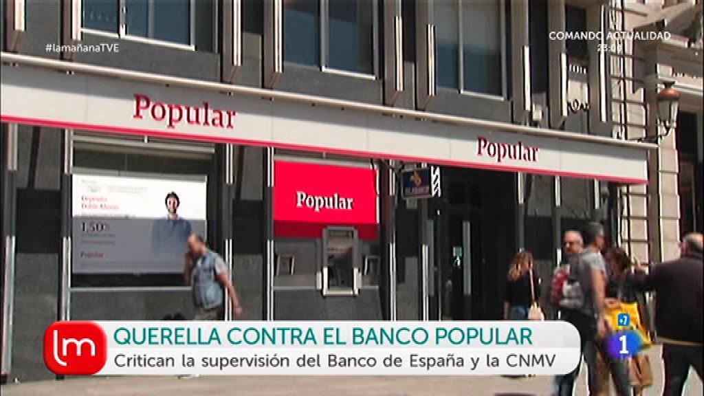 Querella contra el Banco Popular