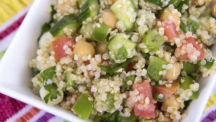 C mo cocinar la receta de quinoa con espinacas en for Como cocinar quinoa