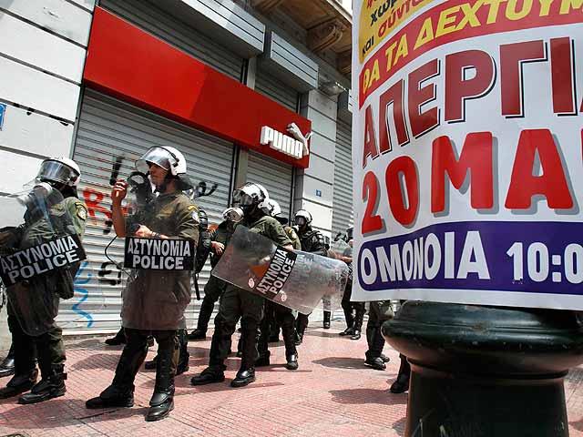Quinta huelga general en Grecia