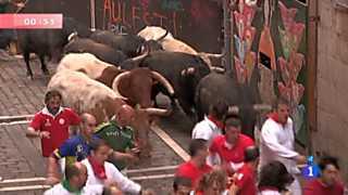 Quinto encierro de San Fermín 2012