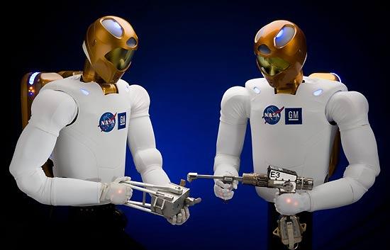 R2, el robonauta del futuro