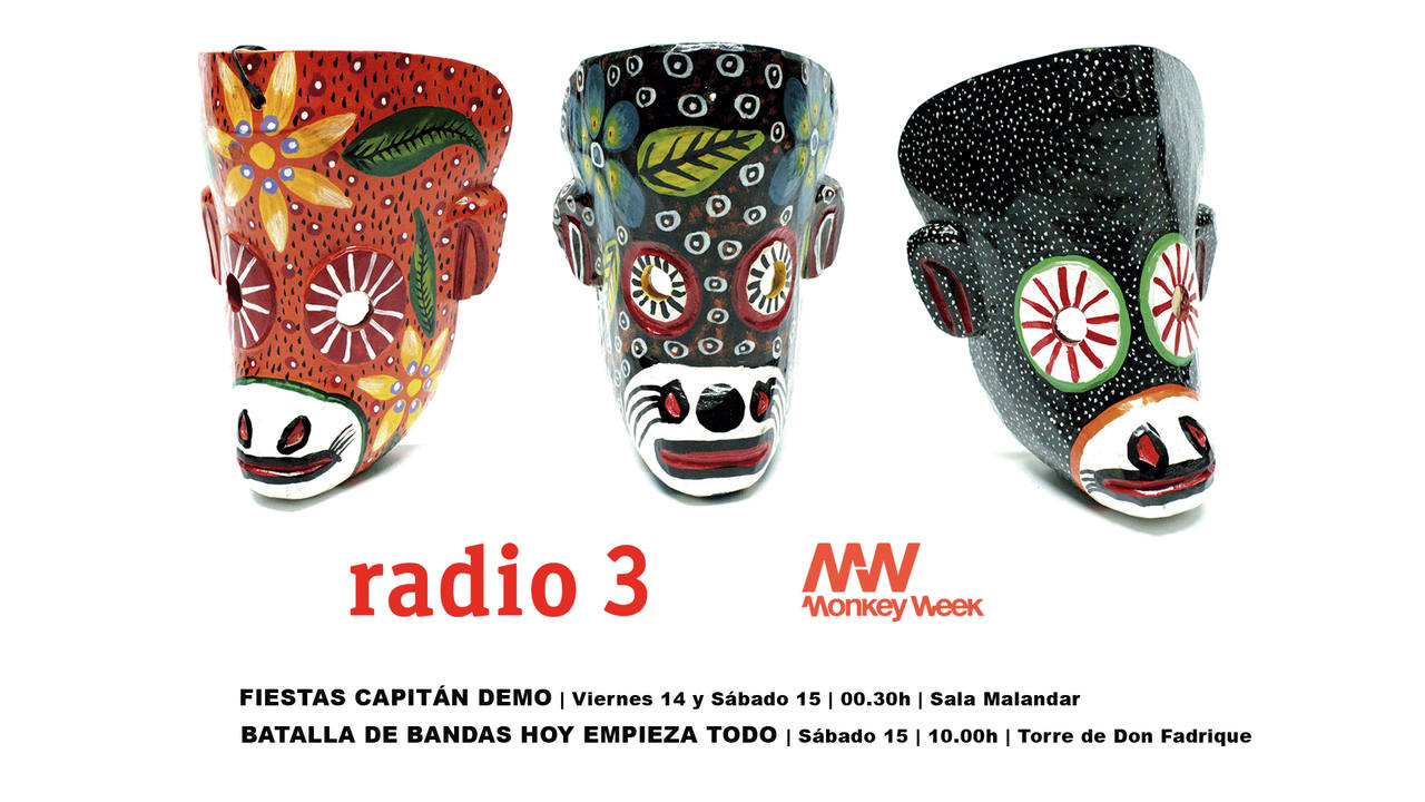 radio3 monkey week 2016