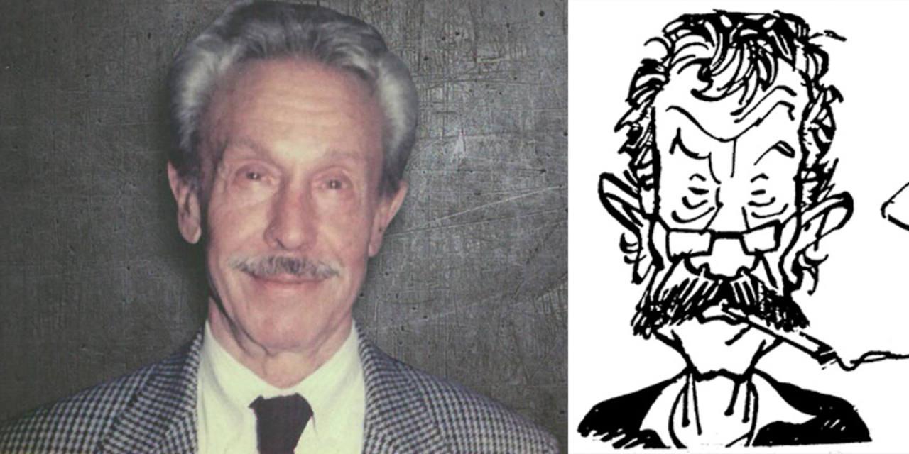 Raf y una caricatura publicada en 'El Jueves'
