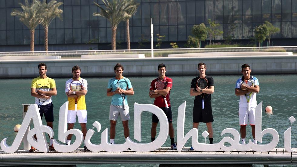 Rafa Nadal se enfrentará a Murray en Abu Dabi