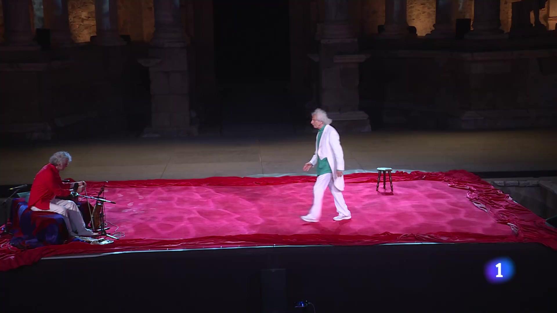Ir al VideoRafael Álvarez, el Brujo, inaugura el Festival de Mérida con 'Los dioses y Dios'