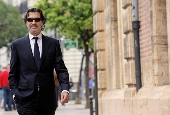 Rafael Betoret a su llegada al Tribunal Superior de Justicia de Valencia