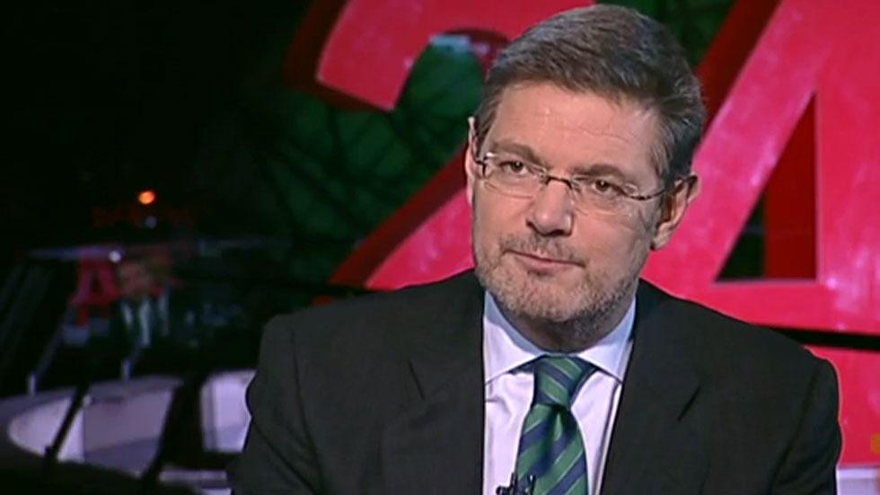 """Rafael Catalá :""""Atribuirle al pacto antiyihadista un carácter electoralista me parece un poquito miserable"""""""