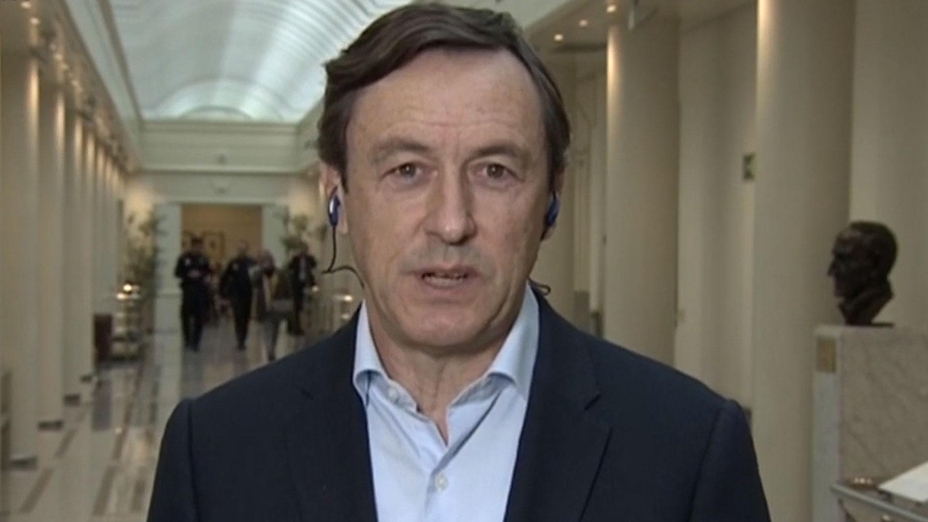 """Ir al VideoRafael Hernando exige a Sánchez """"explicaciones"""" y que """"pida perdón"""" a los españoles tras la sentencia de los ERE"""