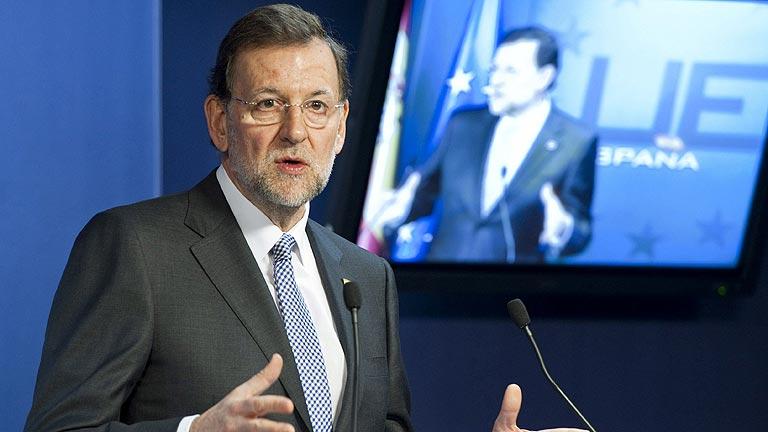 Mariano Rajoy anuncia que el déficit para este año será del 5,8%