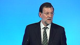 """Rajoy anuncia que """"pronto"""" aprobará nuevas medidas económicas """"difíciles"""""""