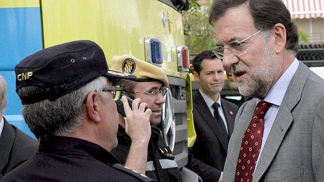 Rajoy apuesta por el trabajo conjunto en Lorca