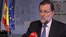 """Ir al VideoRajoy asegura que está contento con la """"unidad"""" actual en el Partido Popular"""