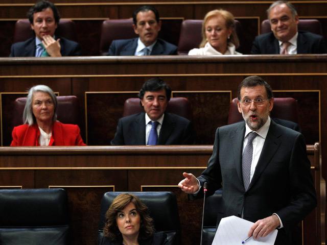 Primera comparecencia de Mariano Rajoy en el Congreso