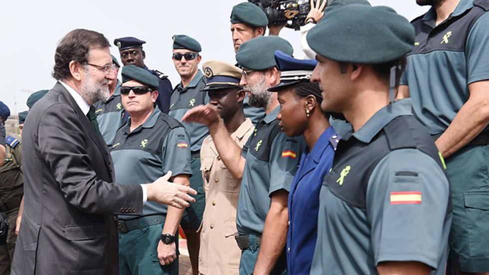 Rajoy conoce en Senegal el trabajo contra la inmigración ilegal y el terrorismo yihadista