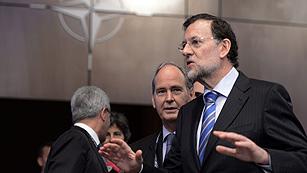 """Rajoy: """"Lo urgente es la estabilidad financiera y la defensa nítida del euro, no los eurobonos"""""""