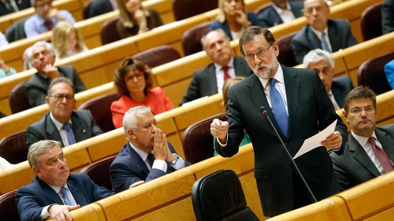 Rajoy deja claro que no aceptará chantajes sobre el referéndum catalán