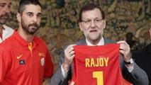 Ir al VideoRajoy desea suerte a la selección española antes del Mundobasket 2014