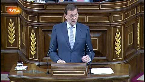 """Rajoy dice que en esta situación """"es imposible crear empleo"""""""